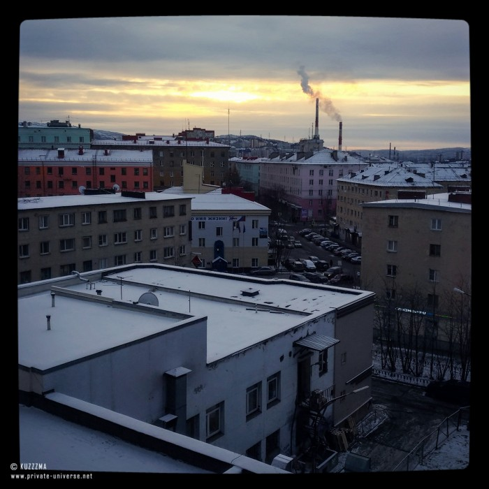 Last glance at Murmansk