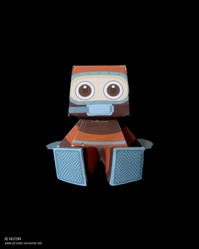 20.03.2020 Rommy Diver papertoy 01