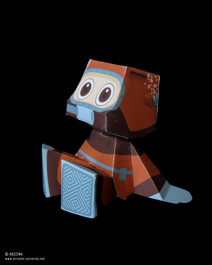 20.03.2020 Rommy Diver papertoy 03