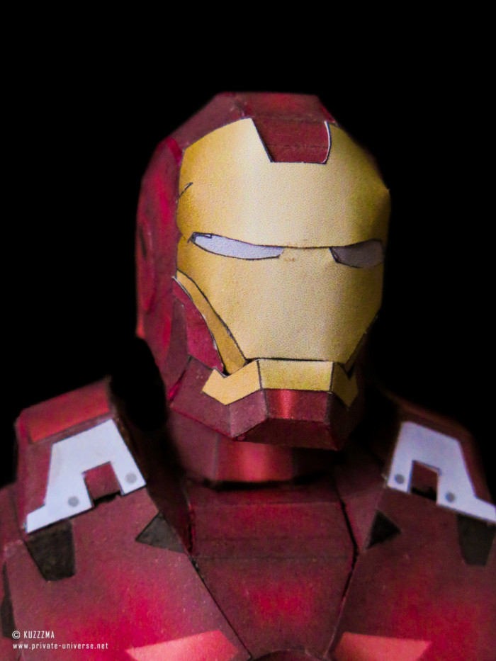 02.05.2018 Iron Man Mark VII papercraft 01