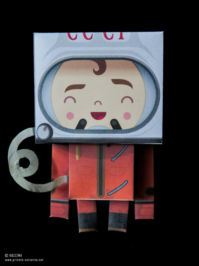 02.05.2018 Paper Gagarin papertoy 01