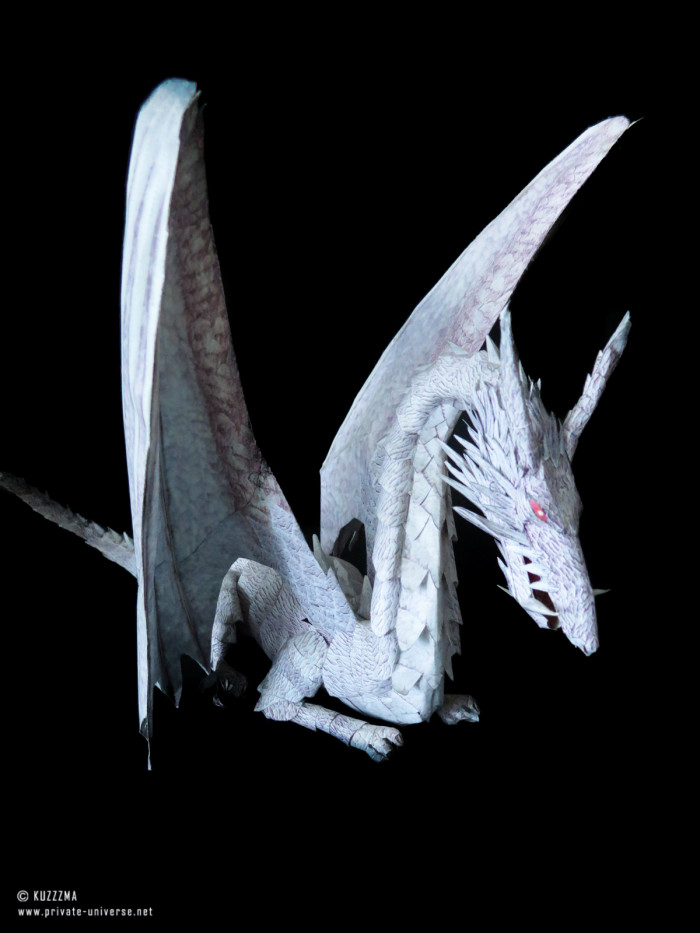 02.05.2018 Tales from Earthsea dragon papercraft