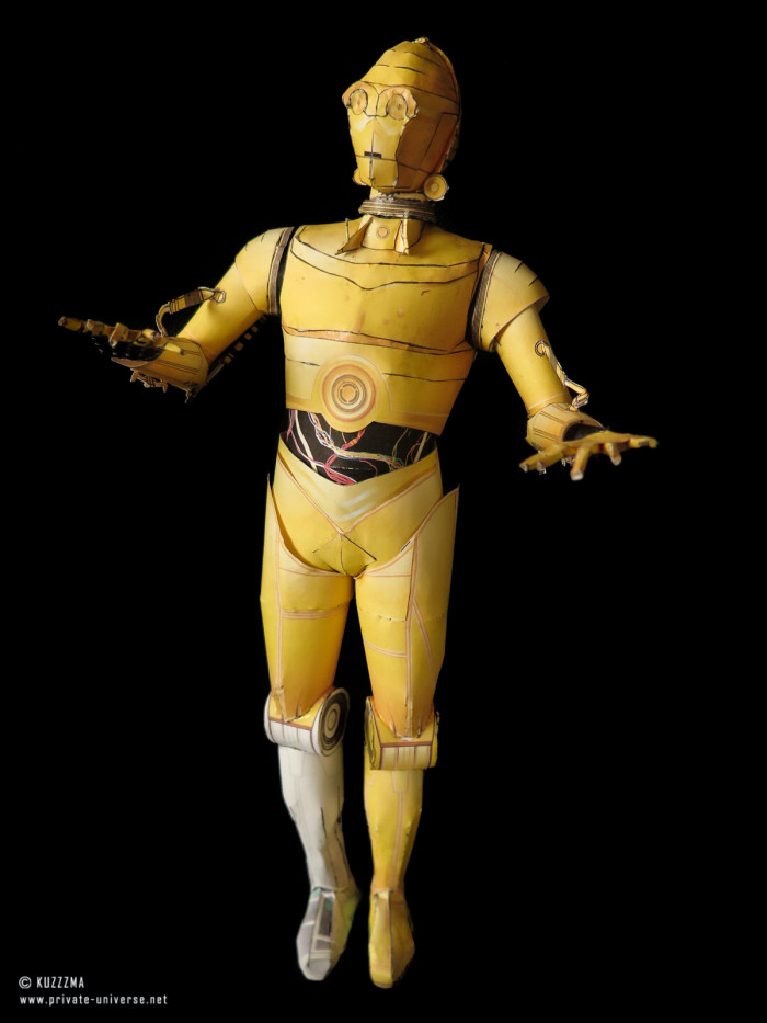 07.01.2015 Star Wars C-3PO papercraft 01