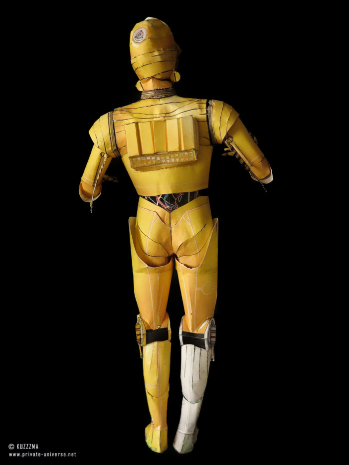 07.01.2015 Star Wars C-3PO papercraft 02