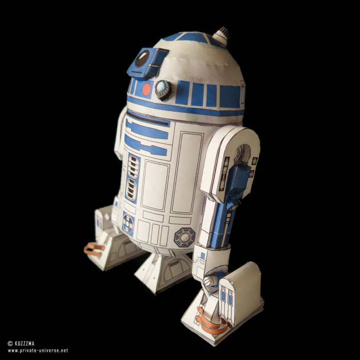 07.01.2015 Star Wars R2-D2 papercraft 02