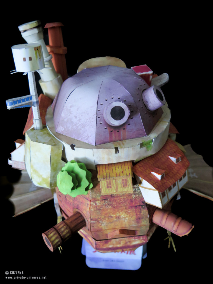 08.05.2018 Howl's Flying Castle papercraft 02