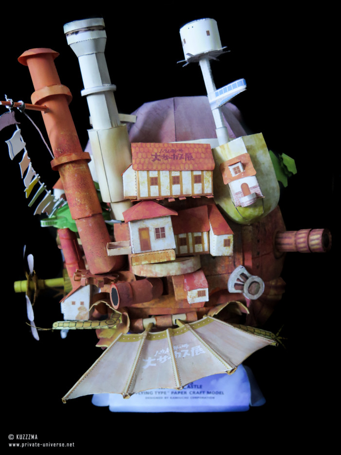 08.05.2018 Howl's Flying Castle papercraft 05