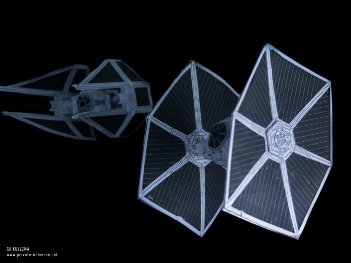 11.08.2018 TIE Fighter & TIE Interceptor papercrafts
