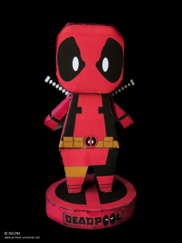 15.05.2018 Paperized Deadpool papertoy
