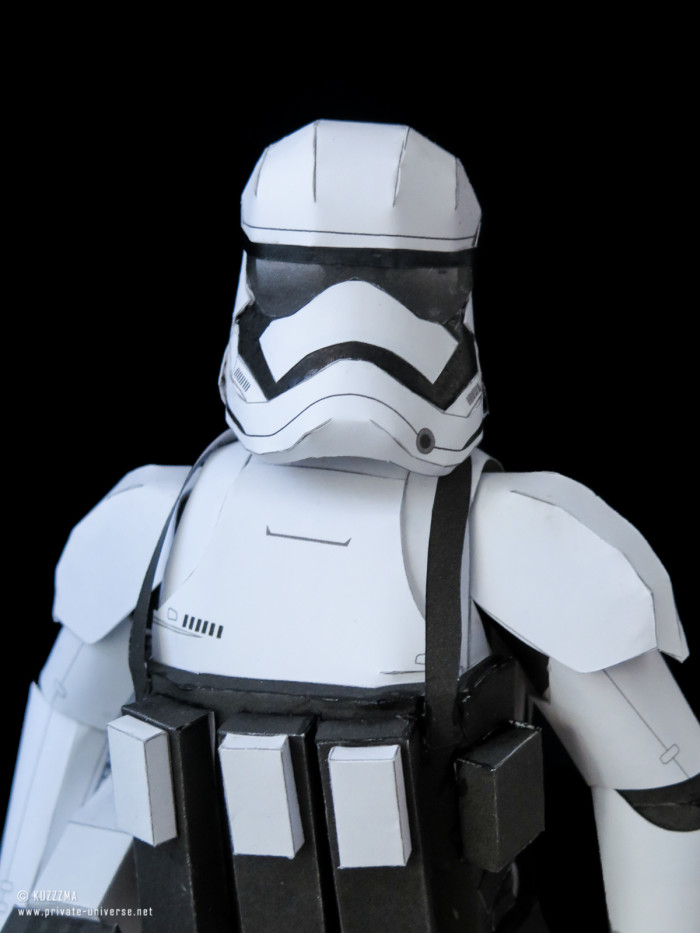 16.01.2018 First Order Stormtrooper papercraft 01