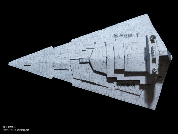 01.02.2020 Imperial Star Destroyer papercraft 06