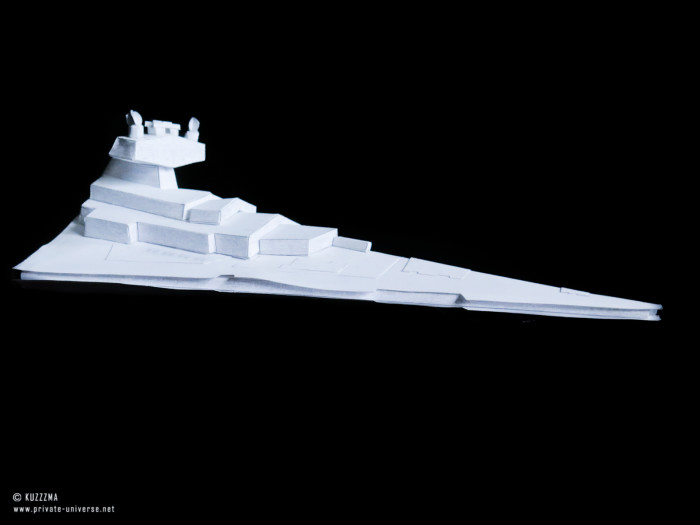 08.02.2019 Imperial Star Destroyer papercraft 01