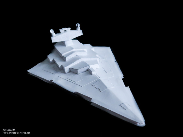 08.02.2019 Imperial Star Destroyer papercraft 02