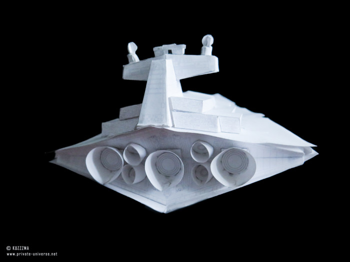 08.02.2019 Imperial Star Destroyer papercraft 03