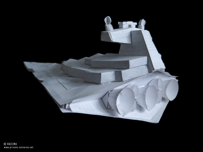 08.02.2019 Imperial Star Destroyer papercraft 04