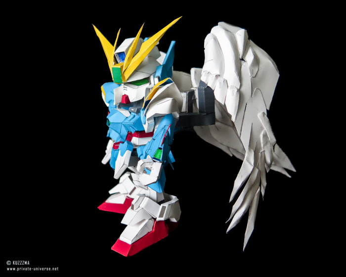 20.03.2021 SD Gundam Wing Zero (with wings) 05
