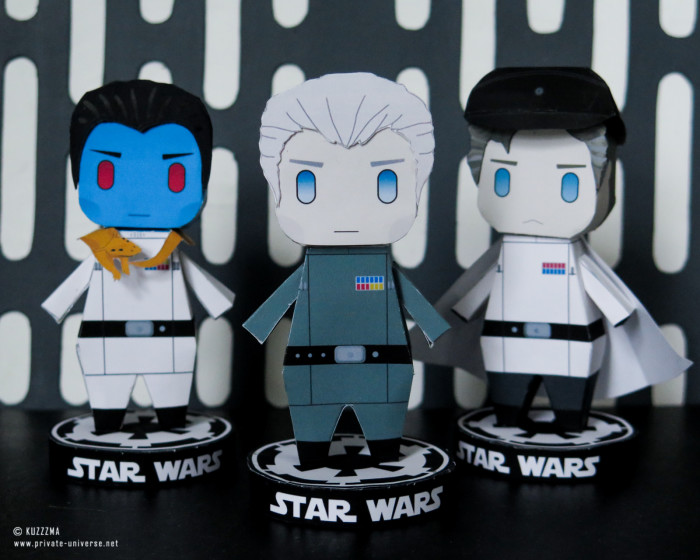 25.04.2021 Paperized Star Wars papertoys