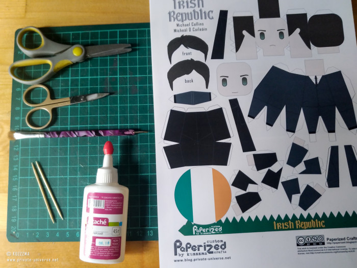 23.05.2021 Michael Collins papertoy How to 01