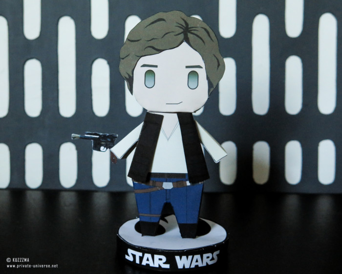 26.05.2021 Paperized Star Wars Han Solo papertoy 01